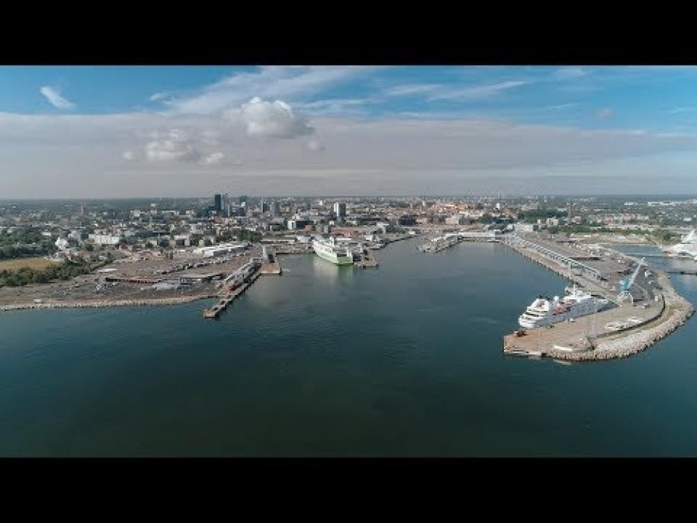 Embedded thumbnail for VIDEO: Tark Sadam - automaatne liikluse juhtimise süsteem Tallinna Sadamas