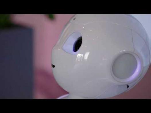 Embedded thumbnail for Humanoidrobot Pepper