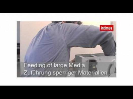 Embedded thumbnail for Paberi- ja andmekandjapurustaja Intimus VZ Multimedia